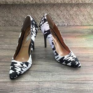 Fun J.Renee heels with black studs
